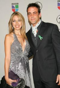 Carlos Ponce and his wife Veronica Ponce at the 7th Annual Latin Grammy Awards.