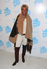 Tina Lifford at the Disney Consumer Products' Tron Pop-up Shop private opening celebration.