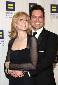Judith Light and Jorge Valencia at the Human Rights Campaign's annual Los Angeles gala.