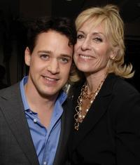 T.R. Knight and Judith Light at the Gersh Agency pre-Emmy party.