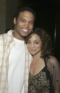 Texas Battle and Jasmine Guy at the