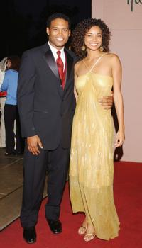 Texas Battle and Rochelle Aytes at the 11th Annual Diversity Awards.