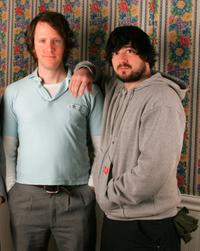Kyle Henry and Jesse Scolaro at the 2005 Sundance Film Festival.