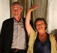 Horst Rehberg and Ursula Werner at the premiere of