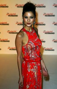 Natassia Malthe at the UK premiere of