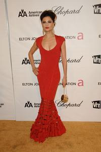 Natassia Malthe at the 16th Annual Elton John AIDS Foundation Academy Awards viewing party.