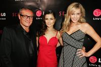 Jayson Brunsdon, Natassia Malthe and Sophie Falkiner at the launch of