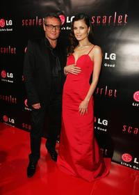 Jayson Brunsdon and Natassia Malthe at the launch of