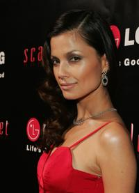 Natassia Malthe at the launch of