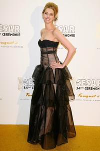 Frederique Bel at the after party of Cesar Film Awards 2009.