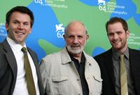 Robert Devaney, Brian De Palma and Patrick Carroll at the 64th Venice International Film Festival.