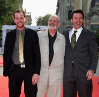 Patrick Carroll, Brian De Palma and Rob Devaney at the 64th Venice Film Festival.