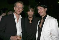 Neil Jackson, Jared Leto and Francisco Bosch at the after party of the premiere of