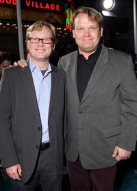 Andrew Daly and Andy Richter at the premiere of