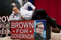 Andrew Daly as Mayor Brown in