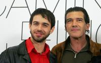 Alberto Amarilla and Antonio Banderas at the photocall of