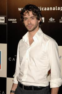 Alberto Amarilla at the premiere of