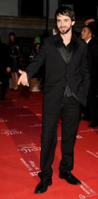 Alberto Amarilla at the 12th Malaga Film Festival opening ceremony.