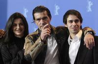 Maria Ruiz, Antonio Banderas and Alberto Amarilla at the photocall of
