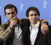Antonio Banderas and Alberto Amarilla at the photocall of