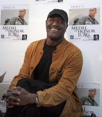 Delroy Lindo at the VIP performance of