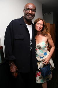 Delroy Lindo and Rachel Horovitz at the 4th Annual Ghetto Film School Benefit Dinner.