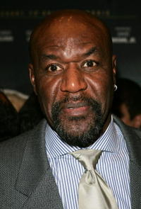 Delroy Lindo at the premiere of