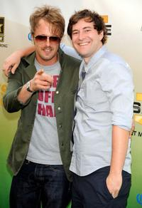 Josh Leonard and Mark Duplass at the Spike TV's 2009 Guys Choice Awards.