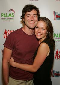 Mark Duplass and Kathryn Aselton at the CineVegas Film Festival.