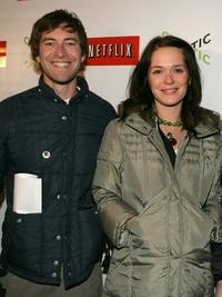 Mark Duplass and Kathryn Aselton at the 2008 Sundance Film Festival.