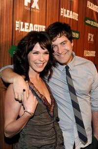 Katie Aselton and Mark Duplass at the premiere screening of