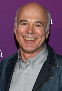 Michael Hogan at the Sci Fi Channel 2008 Upfront Party.