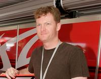 Dale Earnhardt Jr. at the V8 Supercars Grand Finale.