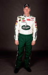 Dale Earnhardt Jr. at the NASCAR Sprint Cup Series media day.