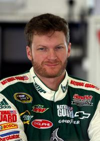 Dale Earnhardt Jr. at the NASCAR Sprint Cup Series Toyota/Save Mart 350.