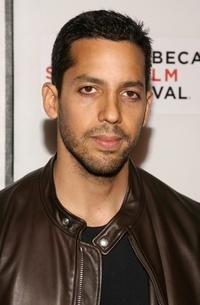 David Blaine at the premiere of