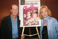 Stephen Bogart and Pia Lindstrom at the press conference of the 60th Anniversary of