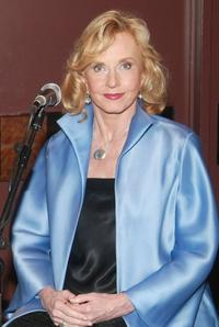 Pia Lindstrom at the press conference of the 60th Anniversary of