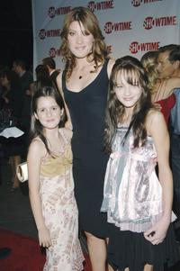 Laura Marano, Jennifer Carpenter and Haley King at the premiere of