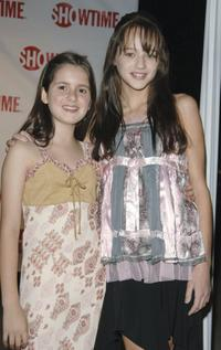 Laura Marano and Haley King at the premiere of