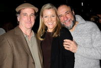 Mark Linn-Baker, Mary McCann and F. Murray Abraham at the opening night of the play