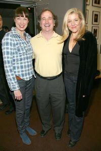 Elizabeth Marvel, Mark Linn-Baker and Mary McCann at the opening night of the play