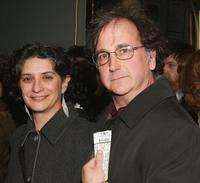 Adrianne Sobel and Mark Linn-Baker at the Opening of