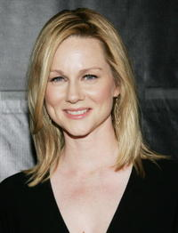 Laura Linney at the Donna Karan