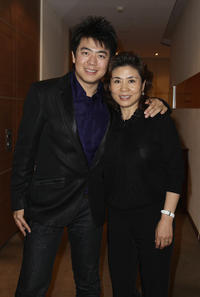 Lang Lang and Xiulan Zhou at the Prize Of The Optimists 2010 in Hamburg.