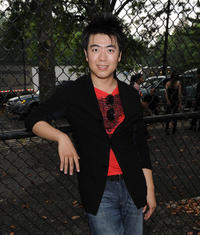 Lang Lang at the Shanghai Symphony Orchestra & New York Philharmonic Concert in New York.