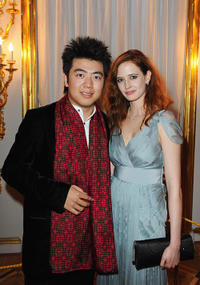 Lang Lang and Eva Green at the Montblanc White Nights Festival Mariinsky Ball in Russia.