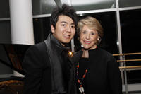 Lang Lang and Joan Weill at the Montblanc De La Culture Arts Patronage Awards in New York.