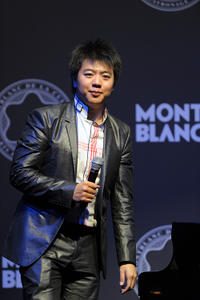 Lang Lang at the Montblanc De La Culture Arts Patronage Award 2011 in Hamburg.