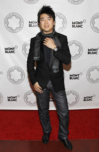 Lang Lang at the Montblanc De La Culture Arts Patronage Awards in New York.